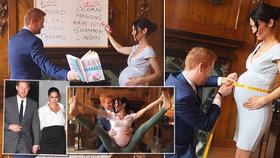 Nejbizarnější fotky Meghan a Harryho! Co na to královna?