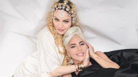 Madonna a Lady Gaga: Letitou válku ukončilo předávání Oscarů