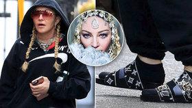 UFO Kratochvílová má těžkou konkurenci: Madonna nenalíčená v šíleném outfitu sklidila posměch!