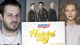 Hudební ceny Evropy 2 odtajnily nominace: Nejvíce nových talentů v historii!