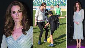Strach o vyzáblou vévodkyni Kate: Ruce, nohy jako hůlky, kostnatý hrudník! Rok od porodu Louise...