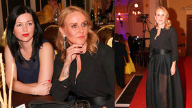 Pizingerová to bez manžela rozjížděla! Kdo jí dělal společnost na Česko-ruském plese?