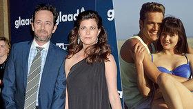 Smrt Dylana z Beverly Hills 90210: U smrtelné postele měl snoubenku i exmanželku