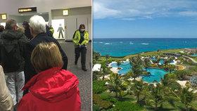 """Dramatický návrat z dovolenkového ráje: """"Chrchlající"""" turisté skončili v karanténě"""