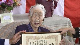 Tohle je nejstarší člověk světa: Japonce Kane je 116 let