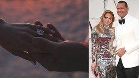 Nóbl zásnuby! Jennifer Lopezová má na prstu smaragd za 114 milionů