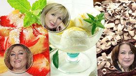 Recepty slavných babiček: Co peče Adamovská, Pawlowská a Nálepková?