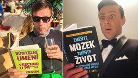 Roman Vojtek chce mít bystrý mozek a hezký život! Dal se na čtení