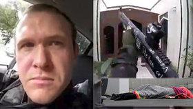 Vrah ze Zélandu vysílal útok živě za zvuků polky: 17 minut vraždění