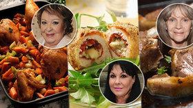 Na oběd s Bohdalkou, Pilarkou i Dádou: Slavné babičky prozradily rodinné recepty