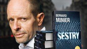 Bernard Minier rád děsí i Čechy a oni ho za to milují! Blesku exkluzivně prozradil, co nahání hrůzu jemu.