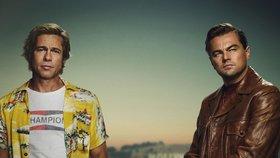 Nová pecka Quentina Tarantina: Pitt dělá DiCapriovi dubléra!