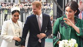 Meghan, to už přeháníš! Vévodkyně ještě ani neporodila, už má ale smělé plány! Co na to Harry?