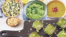 Recepty inspirované jarní svěžestí! Palačinky, polévka i slaný koláč