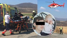 Motorkáři Tomášovi (†23) se stalo osudným předjíždění: Smetl těhotnou Márii