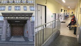 Nemocnice Na Františku začne přijímat seniory s Covid-19: Zřídila pro to izolované oddělení