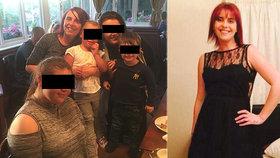 Mladá matka (†34) náhle zemřela při 7. těhotenství! Zabil ji infarkt