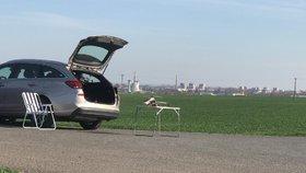 """Pilot dronu nepřemýšlel. Se svou """"hračkou"""" poletoval v přistávacím koridoru ruzyňského letiště"""