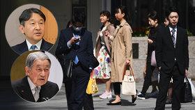 Japonce čeká při korunovaci desetidenní volno. Lidé jsou zděšení, neví, co s ním
