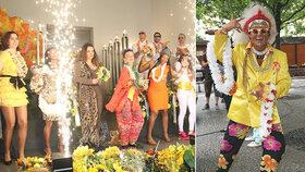 Pohřeb Dana Nekonečného (†52) jako karneval! Samba v krematoriu!