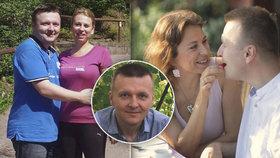 Změnil se, našel lásku, zhubl 25 kilo a začal žít! Radek Chromý dnes pomáhá druhým k radosti