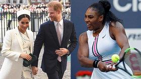 Serena se prořekla! Pohlaví královského miminka odtajněno! Meghan a Harry čekají...