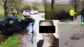 Michal (†22) se zabil v autě cestou z diskotéky: Byla to otázka času, říká expřítelkyně