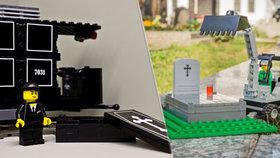 Jak pomoct dětem pochopit smrt blízkých? Firma vsadila na pohřební lego