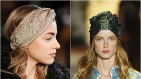 Žhavý trend letošního jara a léta: Šátek ve vlasech! Jak ho nosit?