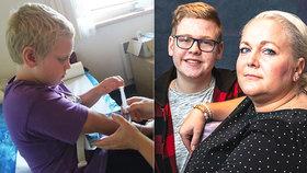 Kateřina (37) přenáší nemoc, u níž hrozí vykrvácení: Přesto se rozhodla porodit syna! Co potřebuje pro přežití?
