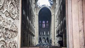 """Notre-Dame je po požáru zamořený olovem, varují experti. A chrám dostane """"deštník"""""""