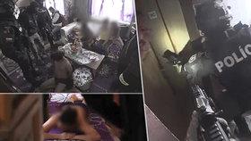 Zásahovka rozbila gang kuplířů: Prodávali dívky ve věku 13-17 let!