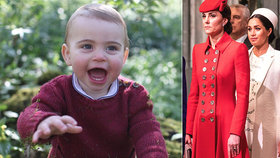 Meghan mlčí, ale královské miminko ukázala aspoň Kate! I když už trochu vyrostlo...