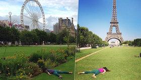 »Mrtvoly« u světových památek baví svět! Co mají fotky znamenat?
