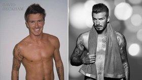 Sexy oslavenec David Beckham ukázal podivný dárek: Manželce snad nevoní?!