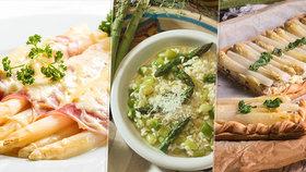 Chřestová sezona je v plném proudu: 5 nejlepších receptů na polévku, koláč i rizoto!