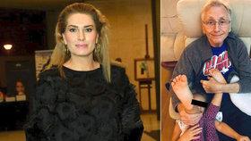 Zpověď manželky nemocného Menzela Olgy: Přála bych si, aby byl Jirka bohatší!