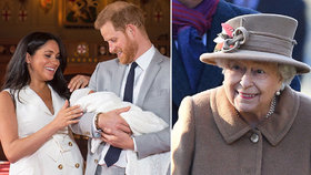 Vzkaz královně Alžbětě od Meghan a Harryho: Archieho neuvidíš!