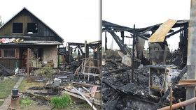 Máma a malý chlapeček (†6) zahynuli v plamenech na Lounsku: Jaké jsou příčiny tragédie v chatové kolonii?