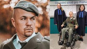 Invalidního vojáka Stanislava označili za podvodníka: Trestní řízení u soudu ukázalo pravdu