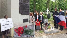 Komunisté po válce likvidovali tisíce lidí. Na Olšanech vzpomínala i vnučka povstalce, kterého nikdy nenašli