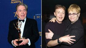 Nejbohatší muzikant? Ani Beatles, ani Stouni, ani Elton John, ale Webber! Nejvíc sypou muzikály!