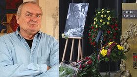 """Poslední rozloučení s Vladimírem Poštulkou (†76): Klaněly se mu """"jeho"""" hvězdy!"""