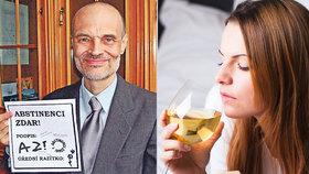 """""""Ženy pijí, když drží krok s muži."""" Psychiatr Nešpor promluvil o alkoholičkách"""