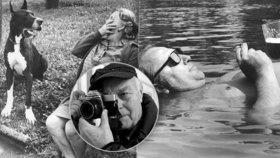 """Obyčejné činí neobyčejným. """"Řada dřívějších fotografií by dnes nemohla vzniknout,"""" říká František Dostál (80)"""