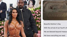 To svět neslyšel! Kim ukázala foto a řekla šílené jméno syna od náhradní matky