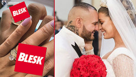 Rytmusova novomanželka Jasmina ukázala snubák: Na kolik si ji rapper cení?