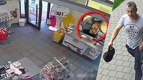 Odporný zloděj ohrožuje prodavačky nožem: Kamera odhalila jeho tvář! Víte, kdo to je?