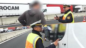 Chcete vidět mrtvolu? Čech na německé dálnici fotil nehodu, policista ho řádně vyškolil