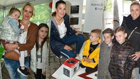 Missky se pochlubily dětmi! Jasanovská, Medková a Divišová ukázaly své raubíře